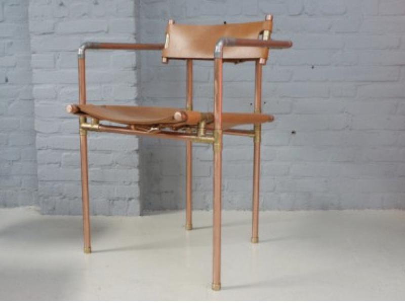 """Une chaise originale à la """"Tom Dixon"""" ! Clemens Maassen"""