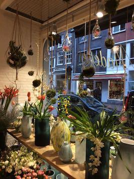 Vraiment top les fleuristes d'Amsterdam : Bloembinderij