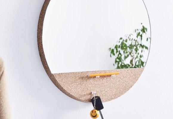 Un miroir aussi esthétique que fonctionnel !