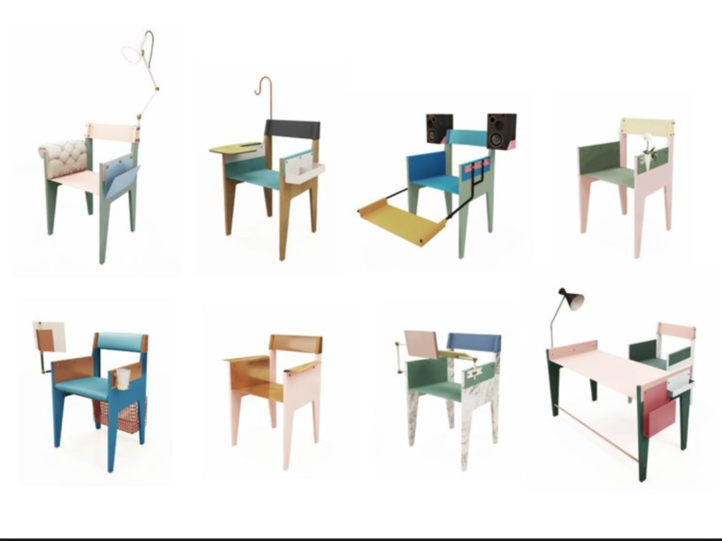 Le concept Capa Chair de Makoto Suzuki